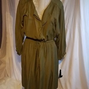 Mossimo Olive Green Dress